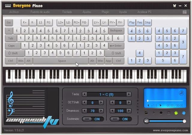 Everyone Piano Teclado Musical 1.5 Español