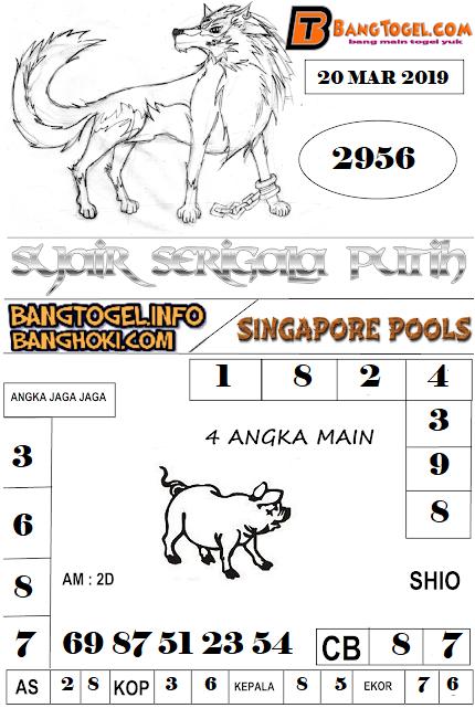 PREDIKSI TOGEL SINGAPOREPOOLS 20 MARET 2019
