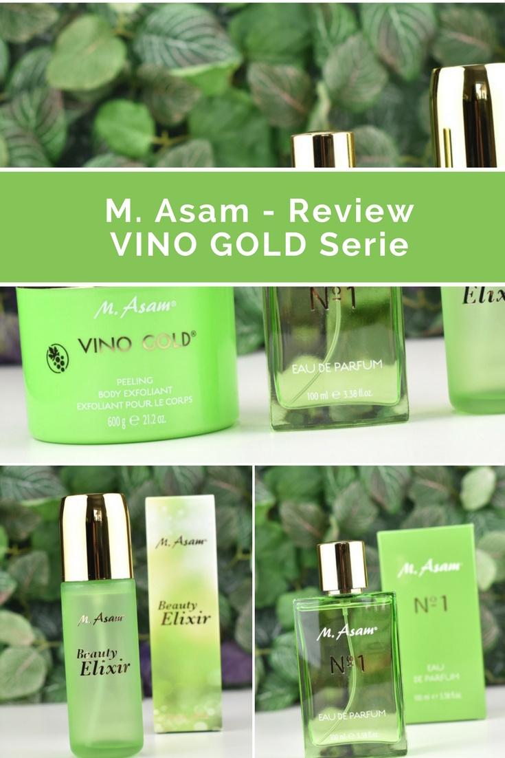 Review der VINO GOLD Serie von M. Asam