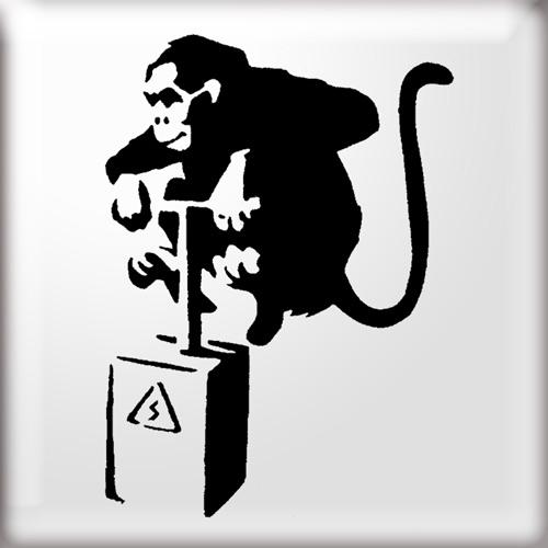 Graffiti Wallpapers: Banksy Banksy Art Monkey