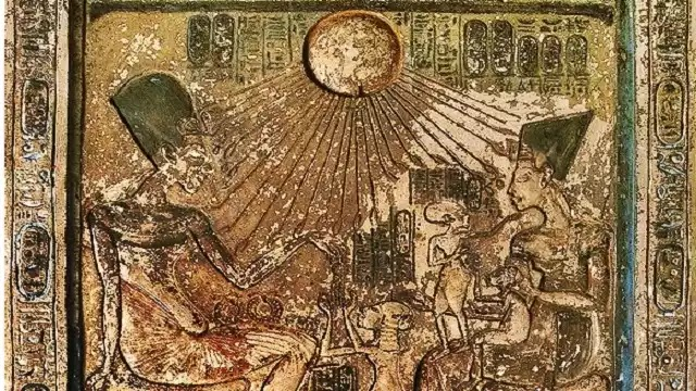 Stela of Akhenaten and His Family