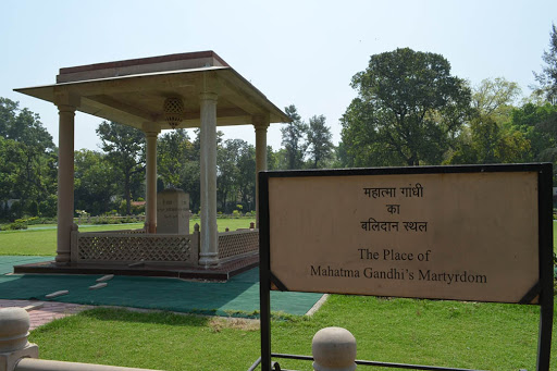 When & where was Gandhiji shot dead