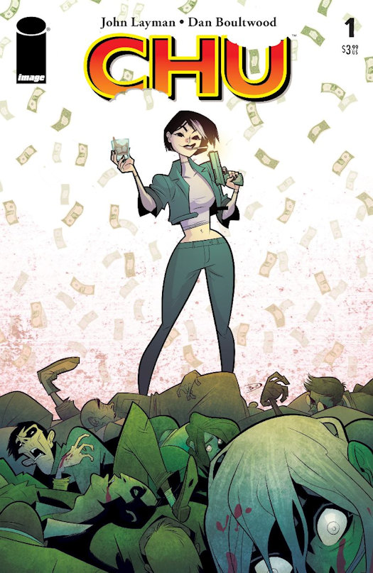 CHU Coming in June and OUTER DARKNESS/CHEW Trade Paperback Coming in July