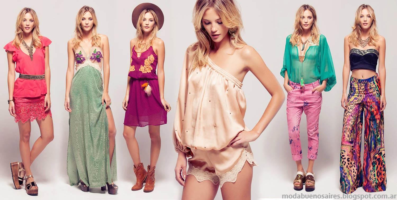 MODA | Slvina Ledesma looks primavera verano, vestidos de fiesta, monos y blusas. | MODA MUJER.