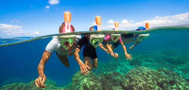 Snorkel Tribor bucear vacaciones