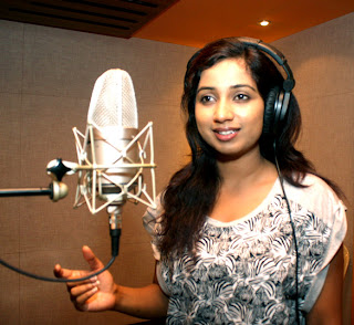 Singer Shreya Ghoshal dubs song for the movie 'Saali Khushi'
