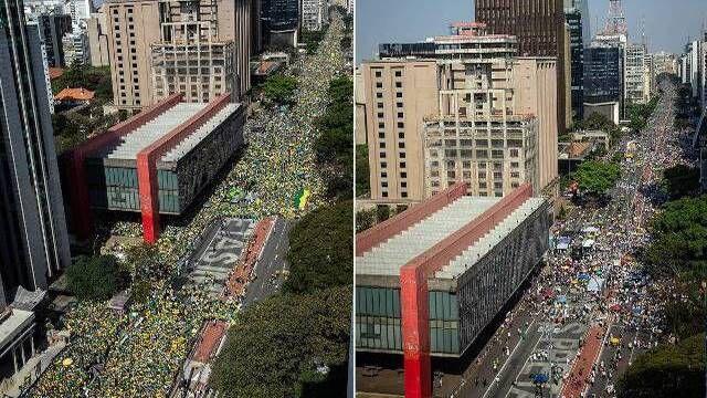 Sem partidos das esquerdas manifestações contra Bolsonaro fracassa
