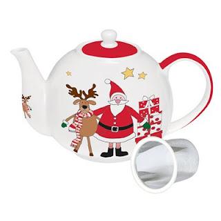 ceainicul cu model de Craciun
