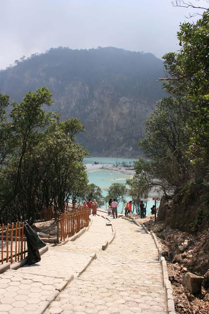Fasilitas Wisata di Kawah Putih Ciwidey