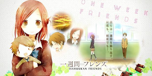 Isshuukan Friends - Top Anime Romance Sad Ending List