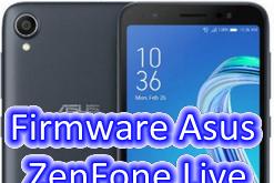 Firmware Asus ZenFone Live