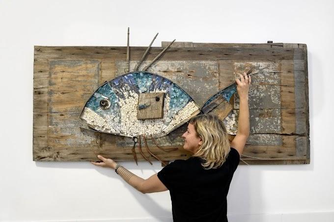 Mosaici artistici di mare: nasce il primo shop online ad opera dell'artista Rossella Casadio