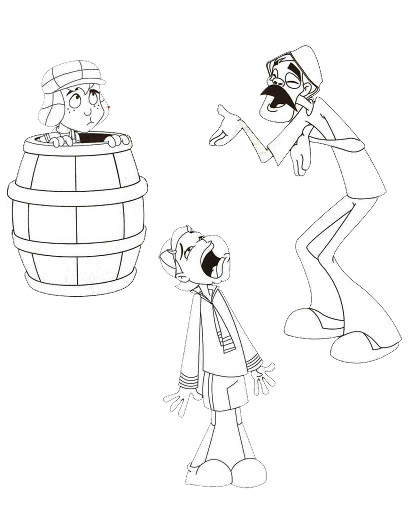 Dibujos Del Chavo Del Ocho Para Colorear 2 Dibujos Para