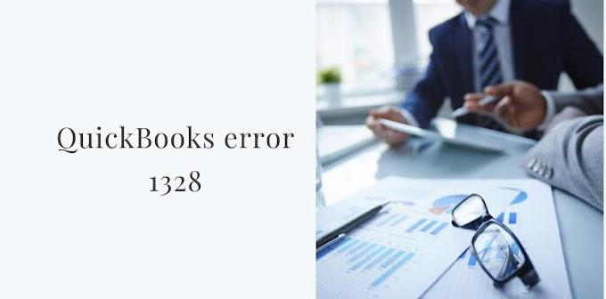 Step By Step Procedure To Resolve The QuickBooks Error 1328