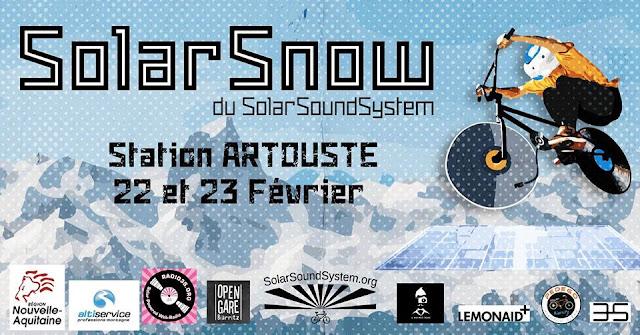Solar SNOW System Artouste 2018