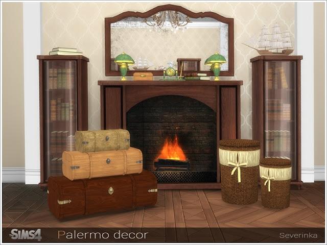 Классический стиль — наборы мебели и декора для Sims 4 со ссылками для скачивания