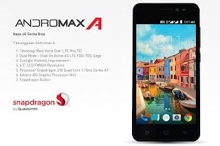 Harga dan Spesifikasi Smartfrens Andromax A Terbaru
