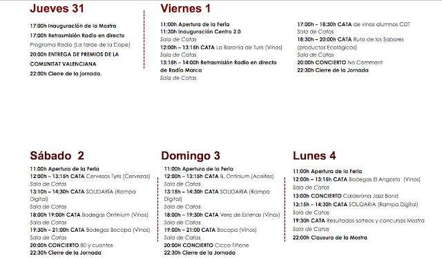 Mostra de Vins i Aliments de la Comunitat Valenciana