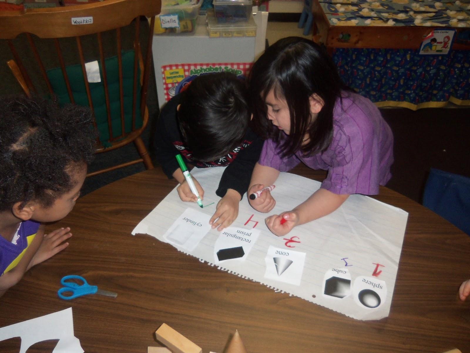 Kinder Garden: Mrs. Wood's Kindergarten Class: 3-D Shapes