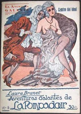 las aventuras galantes de la pompadour, libro de laura brunet seudonimo de j sanxo farrerons