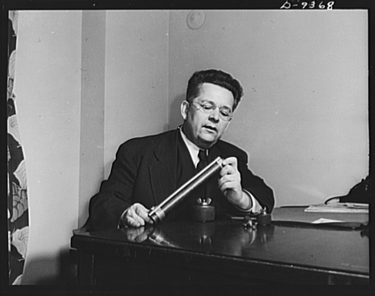 Ray Milholland - Author (1894-1956) - Image courtesy Library of Congress