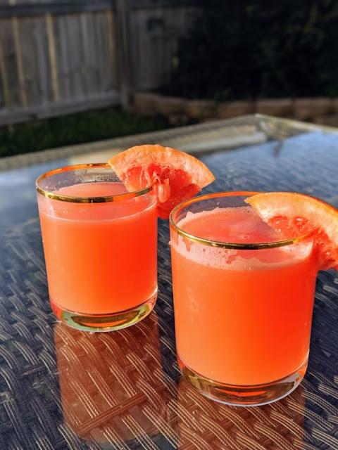 Refreshing Grapefruit Mocktail