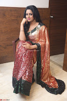 Udaya Bhanu lookssizzling in a Saree Choli at Gautam Nanda music launchi ~ Exclusive Celebrities Galleries 003.JPG