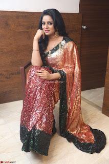 Udaya Bhanu lookssizzling in a Saree Choli at Gautam Nanda music launchi ~ Exclusive Celebrities Galleries 003.JPG