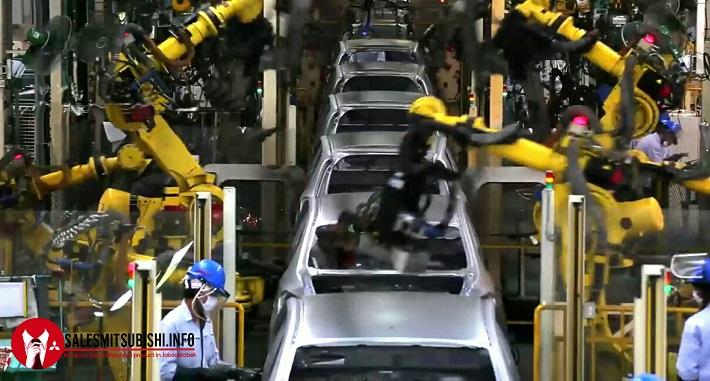 Mitsubishi Pajero Sport siap dirakit di Bekasi pada bulan April