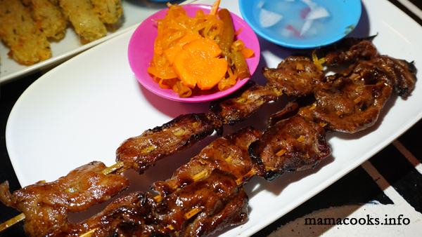 Retro KTV Bar - Bacolod restaurant - pork barbecue