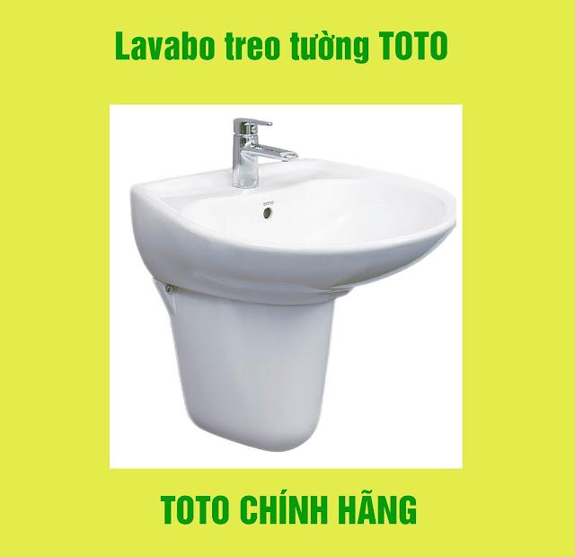 chậu rửa Lavabo treo tường TOTO