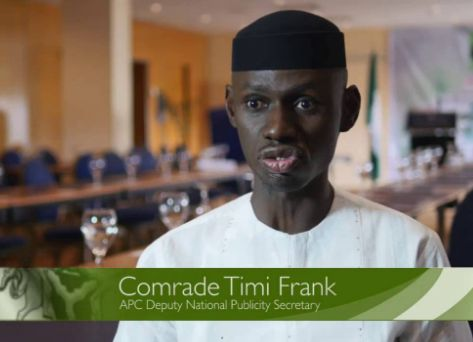 APC Will Break As They Want To Force Me Out – Timi Frank