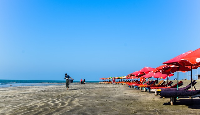 Cox's Bazar Laboni Beach  Bangladesh Sea Beach