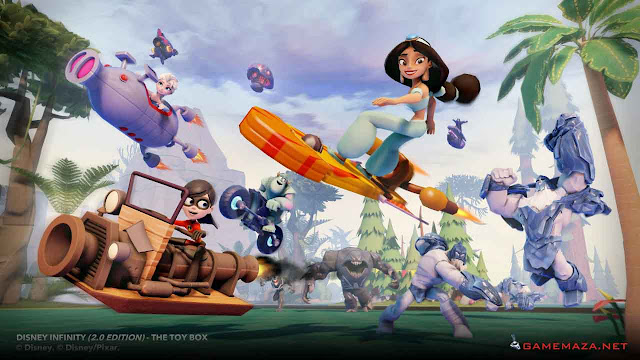 Disney Infinity 2.0 Gameplay Screenshot 2