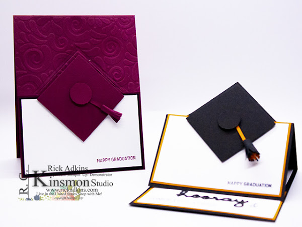Graduation Hat Easel and Gift/Money Holder Card Video Tutorial