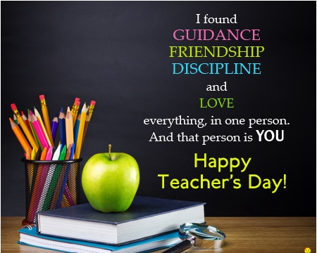 Happy Teachers Day Photos