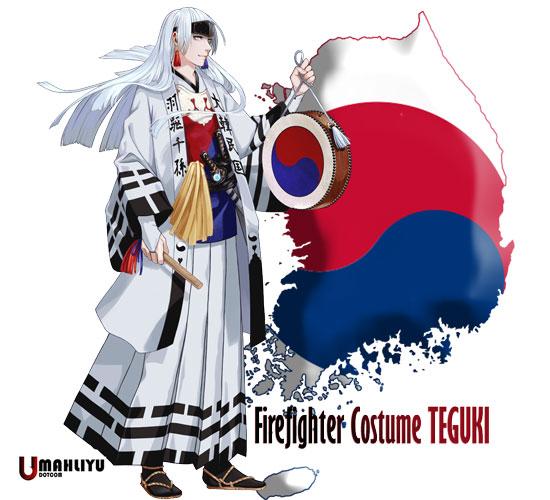 karakter anime negara peserta olimpiade 2020