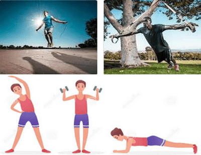 The Best Outdoor and Indoor Exercises or Workouts