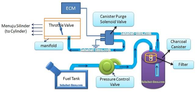 Materi EFI - Cara Pemeriksaan dan Perbaikan Charcoal Canister dan EVAP system pada EFI
