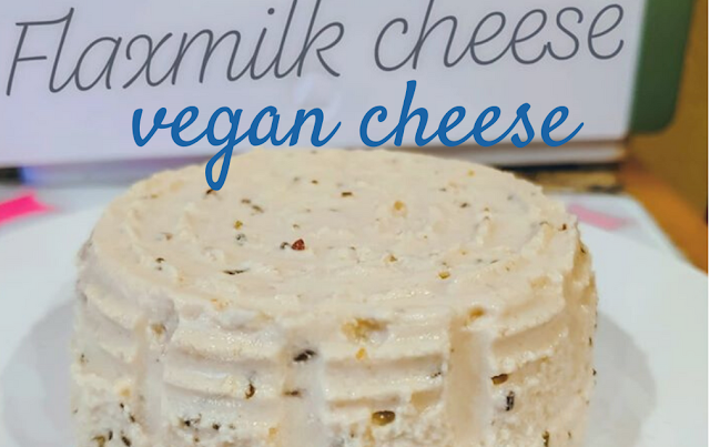Vegan Flax Milk cheese... and I made it!