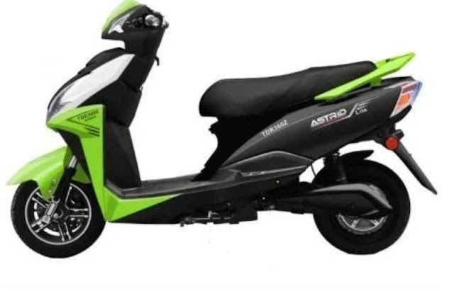 Gemopai Astrid lite electric scooter launch india; avillable in 80-90km per charge.