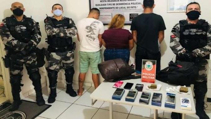 Ex-presidiários são presos ao tentar embarcarem com drogas, na PB