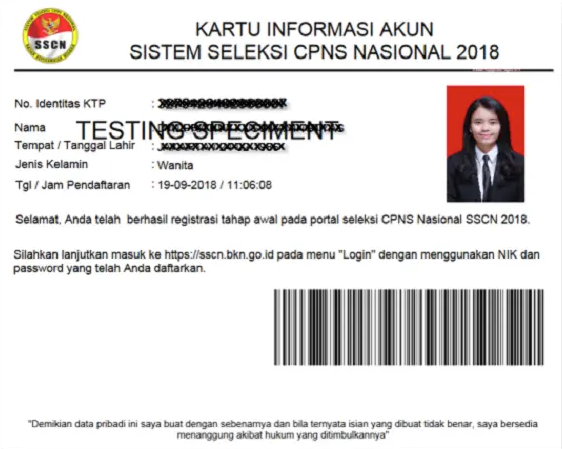 Cara Daftar dan Login SSCN Akun BKN.go.id