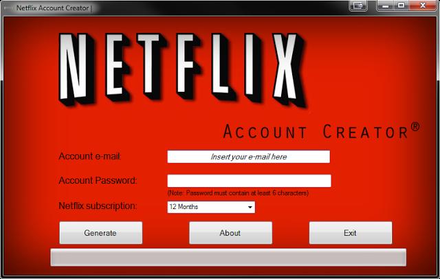 Netflix Account Generator Crack