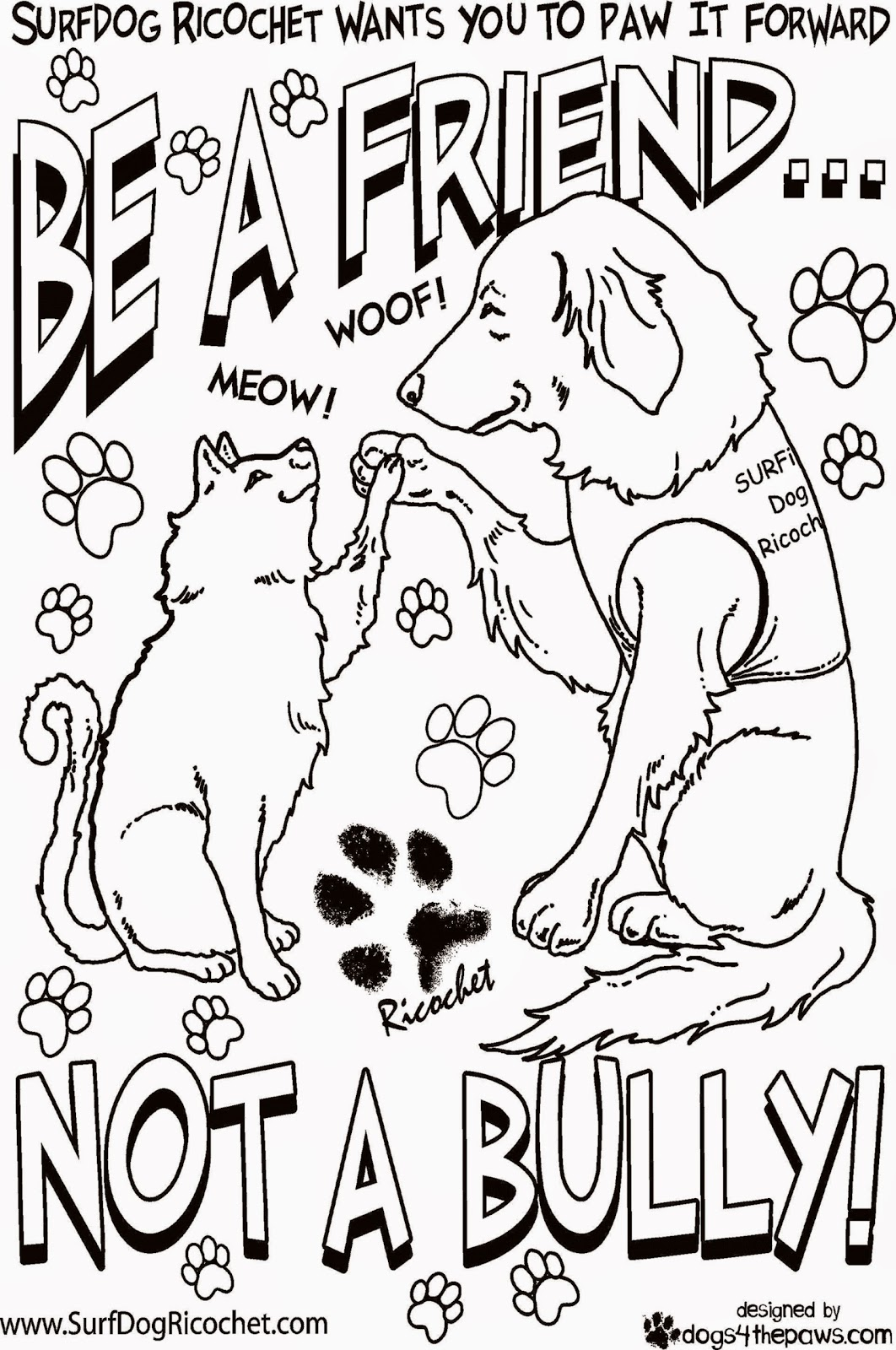 Bullying Coloring Pages  Free Printable Coloring Pages