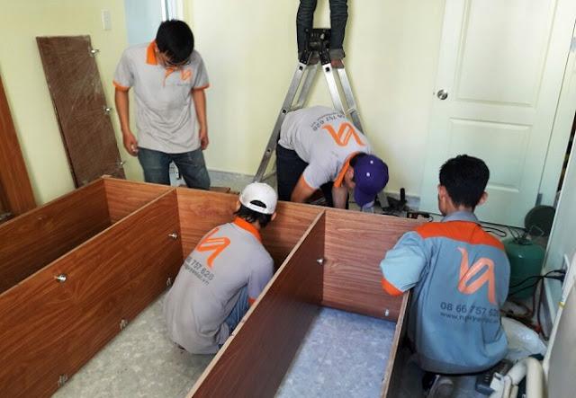 Nguyenloi Moving đang thực hiện chuyển nhà trọn gói