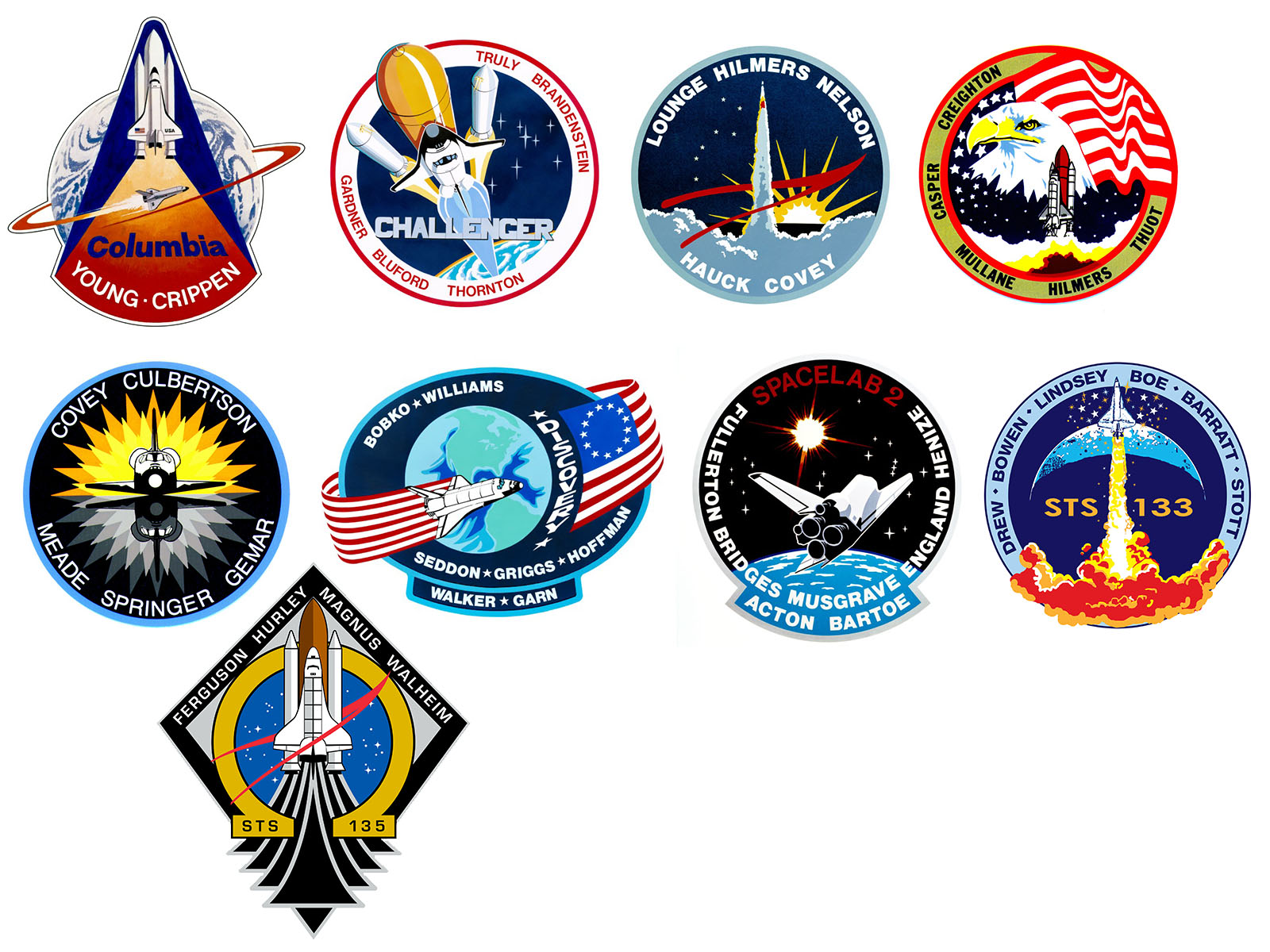 Badges From NASA (page 3) - Pics about space