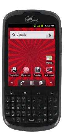 Virgin Venture (Alcatel) - 3G Android Phone with Portrait