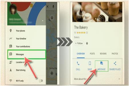 Cara Menggunakan Fitur Baru Google Maps 'Messages' Untuk Berkirim Pesan
