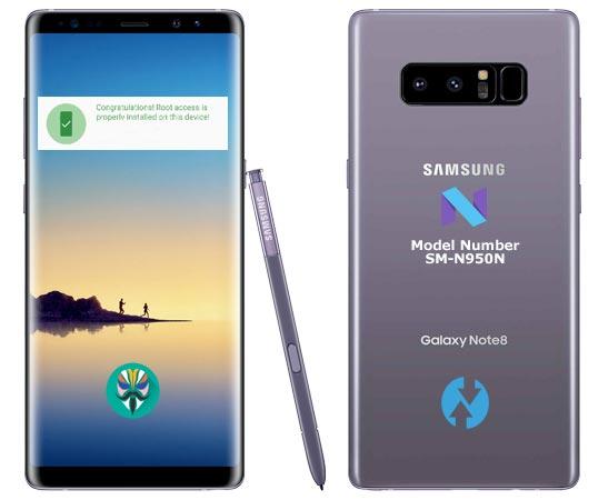 Galaxy note 8 SM-N950N U4 combination - File ROM Free